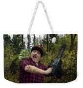 I Am A Lumberjack I Am Ok Weekender Tote Bag