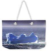 Iceberg Floating By Weekender Tote Bag