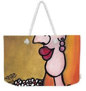 ' In A Field Of Daisies ' - ' Dans Un Champ De Marguerites ' Weekender Tote Bag