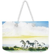 Indian Ponies Weekender Tote Bag