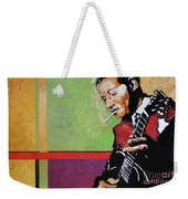 Jazz Guitarist Weekender Tote Bag