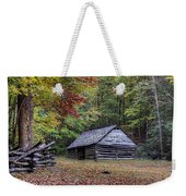 Jim Bales Place Barn Along Roaring Fork Motor Trail Weekender Tote Bag