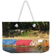 Laundry Matt On The Nile Weekender Tote Bag