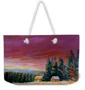 Lovely Sweeping Skies  Weekender Tote Bag