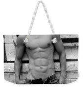 Male Abs Weekender Tote Bag