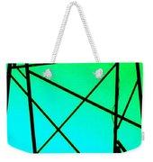 Metal Frame Abstract Weekender Tote Bag