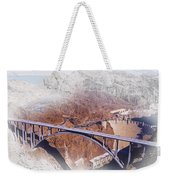 Mike O'callaghan Pat Tillman Memorial Bridge Weekender Tote Bag