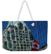 Modern Architecture - City Reflection Vancouver  Weekender Tote Bag