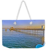 Mumbles Pier And Lifeboat Station Weekender Tote Bag