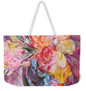 My Bouquet Weekender Tote Bag