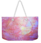 5. Orange, Red, And Yellow 'sun' Glaze Painting Weekender Tote Bag