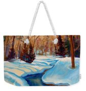 Peaceful Winding Stream Weekender Tote Bag