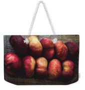 ... Pesche Tabacchiere ... Weekender Tote Bag