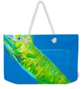 Prized Dolphin Painting Weekender Tote Bag