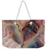 Psychedelic Heart Weekender Tote Bag