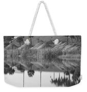 Pyrimids By The Lakeside Cache Weekender Tote Bag