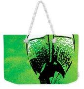 Rhino Animal Decorative Green Poster 6 - By  Diana Van Weekender Tote Bag