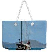 Sailing Virgin Islands Weekender Tote Bag