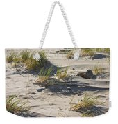 Sand And Driftwood Popham Beach Maine Weekender Tote Bag
