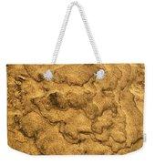 Sand Map Weekender Tote Bag