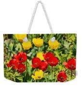 Spring Landscape With Tulips Weekender Tote Bag