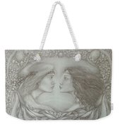 Spring Lovers With Snowdrops Weekender Tote Bag