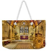 St Lawrence Seal Chart - Chancel Weekender Tote Bag