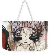 Strange Girl Weekender Tote Bag