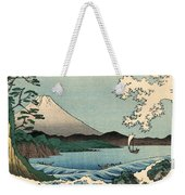 Suruga Satta No Kaijo - Sea At Satta In Suruga Province Weekender Tote Bag