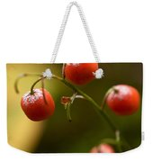 The Berries Of The Lily Of The Valley Weekender Tote Bag