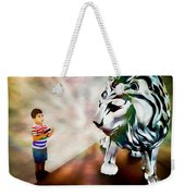 The Boy And The Lion 2 Weekender Tote Bag