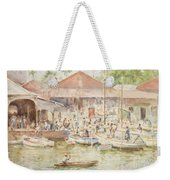 The Market Belize British Honduras Weekender Tote Bag