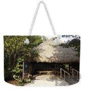 Tiki Hut  Weekender Tote Bag