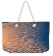 Tracks At First Light In Death Valley Weekender Tote Bag