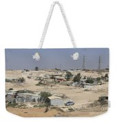 Unrecognized, Beduin Shanty Township  Weekender Tote Bag