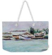 Venice Lagoon Weekender Tote Bag