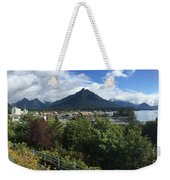 View From Top Of Castle Hill Sitka Alaska 2015 Weekender Tote Bag