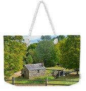 Village Blacksmith Shop Weekender Tote Bag