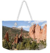 West Garden Of The Gods Weekender Tote Bag