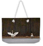 Whooper Swans 2 Weekender Tote Bag