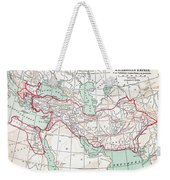 Map Of Macedonian Empire Weekender Tote Bag