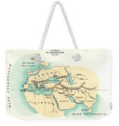 World Map, C300 B.c Weekender Tote Bag