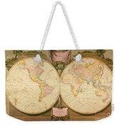 Captain Cook: Map, 1808 Weekender Tote Bag