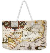 Map: Colonial America, Weekender Tote Bag