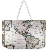 New World Map, 1616 Weekender Tote Bag