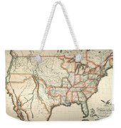 Map: United States, 1820 Weekender Tote Bag