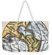 World Map, 1529 Weekender Tote Bag