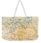 Austrian Empire Map, 1795 Weekender Tote Bag