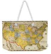 United States Map, 1866 Weekender Tote Bag