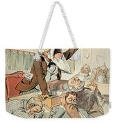 Senate Cartoon,free Silver Weekender Tote Bag by Granger